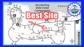 A Guided Tour Oḟ The Wooden Frog Campground At Lake Kabetogama