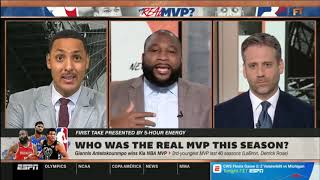 Max Kellerman SATISFIED Who was the real MVP this season    FIRST TAKE 6 25 2019