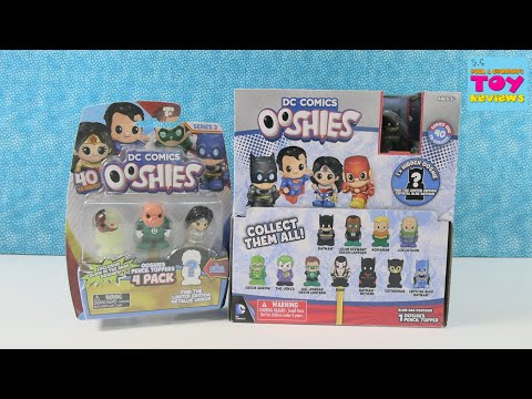 DC Comics Ooshies Series 1 & 2 Blind Bag Opening   PSToyReviews