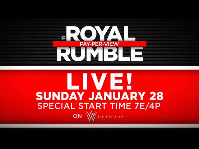 WWE Royal Rumble 2018 match card, schedule with predictions