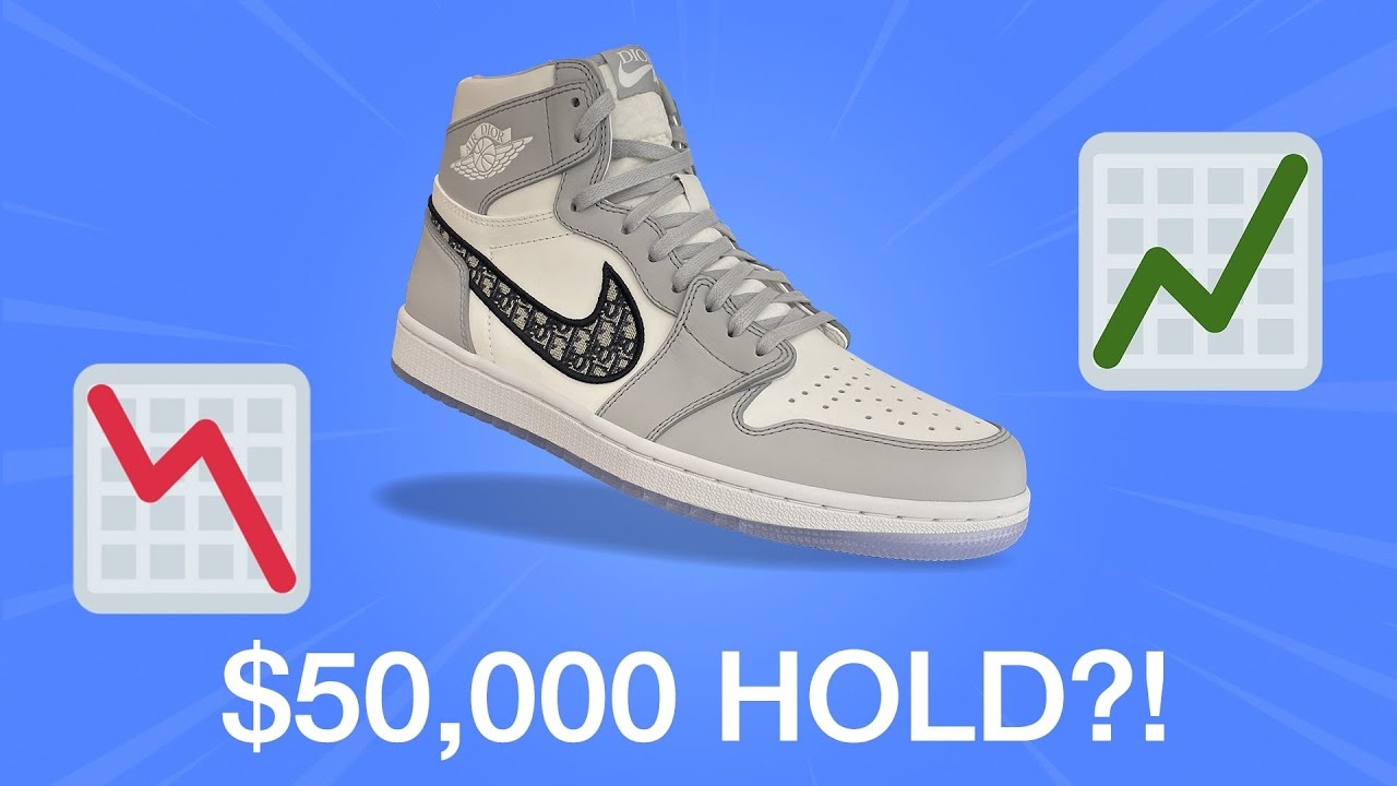 Why you should SELL your Dior x Nike Air Jordan 1 ASAP!