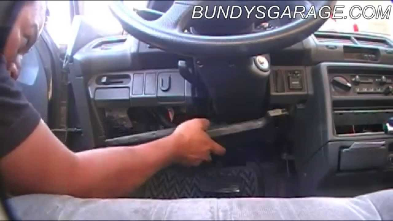 Honda Acura No Start Main Relay Fuel Pump Replacement Bundys 1990 Civic Lx Auxiliary Engine Diagram Garage Youtube
