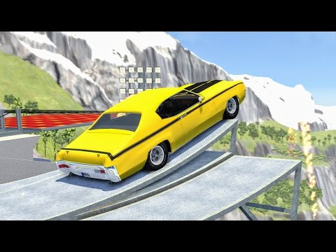 Thumbnail: Epic High Speed Jumps #13 – BeamNG Drive