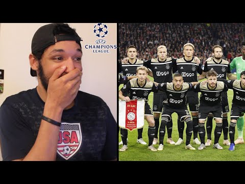 American Reacts to AJAX: ROAD TO THE CHAMPIONS LEAGUE Semi-Finals