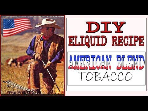 DIY Eliquid – Marlboro American Blend Tobacco [Full Flavor almost USA Marlboro like ejuice]