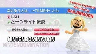 Wii Karaoke U - Me singing *SailorMoon Opening* - カラオケJOYSOUND