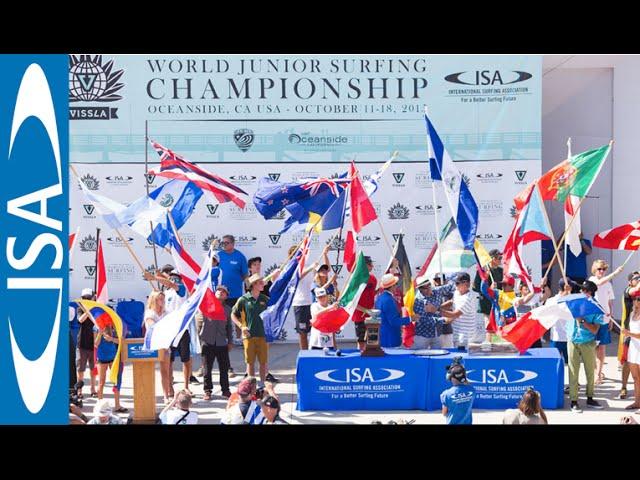Opening Ceremony - 2015 VISSLA ISA World Junior Surfing Championship