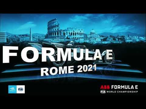 Formula E - ROME 2021 (giri di prova)
