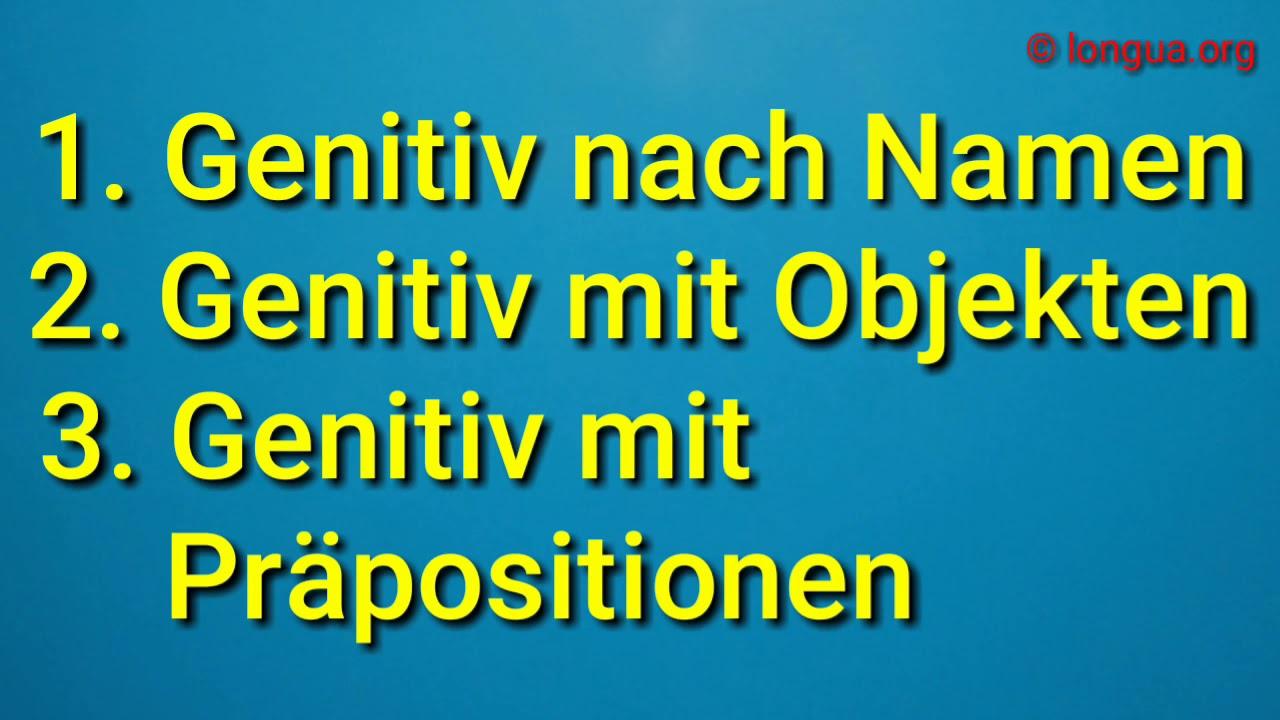 Genitiv im deutschen grammatik bausteine a1 a2 b1 b2 for Praposition und genitiv