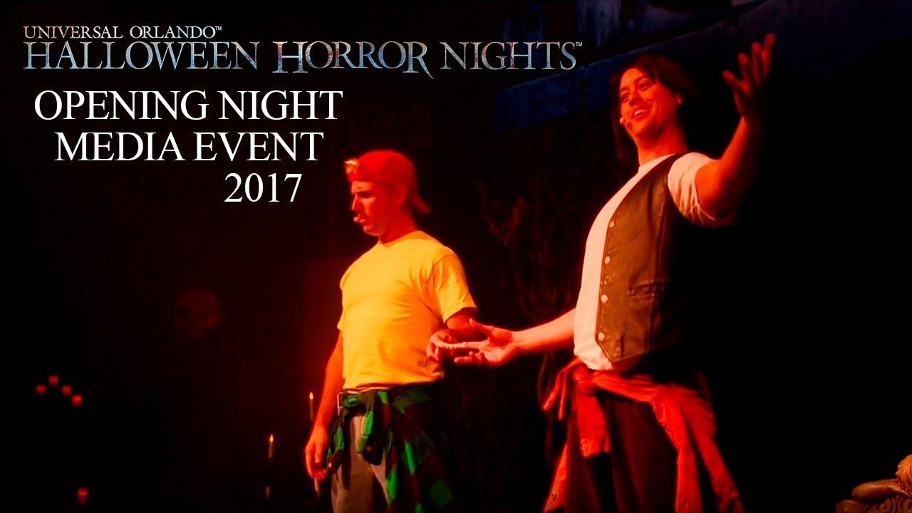 Bill & Ted Opening Night Media at Halloween Horror Nights 27