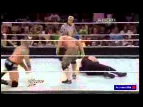 Roman Reigns John Cena vs Kane and randy...
