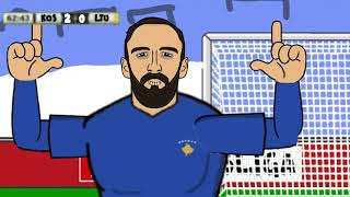 ⚽️ Kosovo🇽🇰 4-0 Lithuania🇱🇹.Vedat Muriqi's Goal.Made by me.Inspired by 442oons