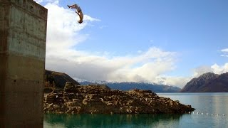 Wanaka, Lake Hawea water tower flip session