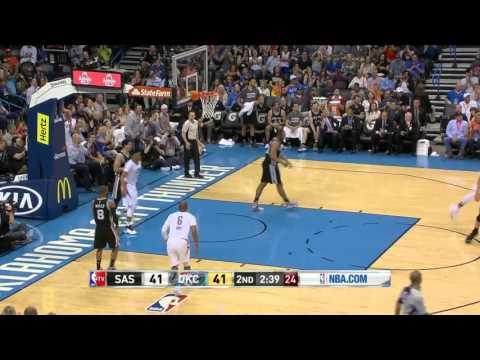 San Antonio Spurs vs Oklahoma City Thunder   March 26, 2016   NBA 2015-16 Season