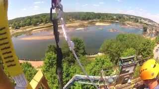 First Look GoPro Zip Line Columbus to Phenix City Across Chattahoochee Mp3
