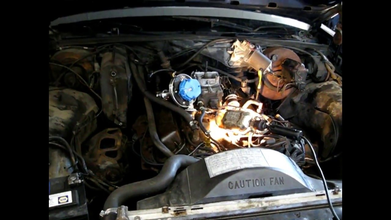 HEI Distributor Install On 302 Ford ( Grand Mardquis )