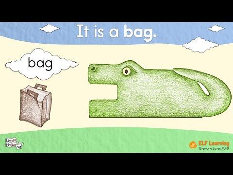 Blending Words For Kids - Phonics And Reading - CVC Words Phonics - ELF Kids Videos