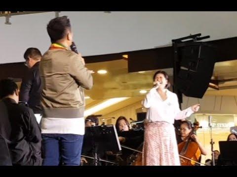OGIE ALCASID & REGINE VELASQUEZ (NakakaLokal Grand Album Launch - Robinsons Magnolia)