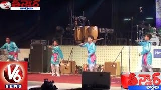 V6 Telangana Songs Performed at India Day 2015 Celebrations | Uganda | Teenmaar News | V6News