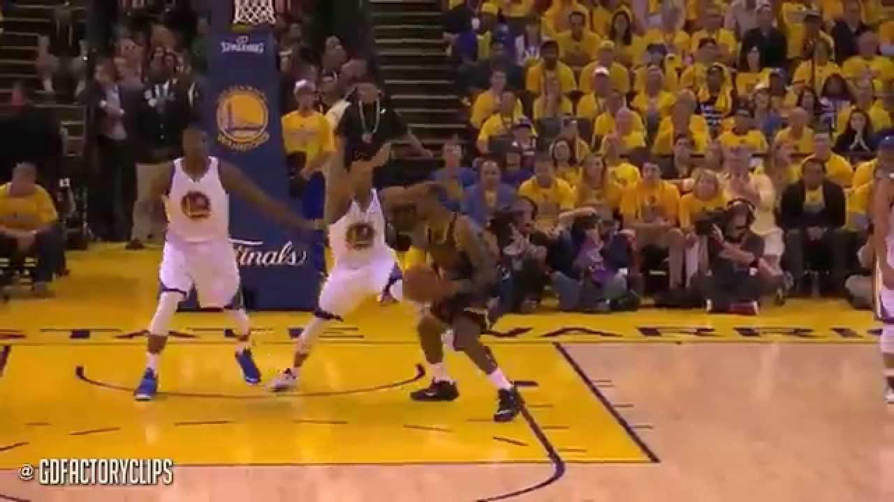 LeBron James Triple Double vs Warriors (Full Highlights ...