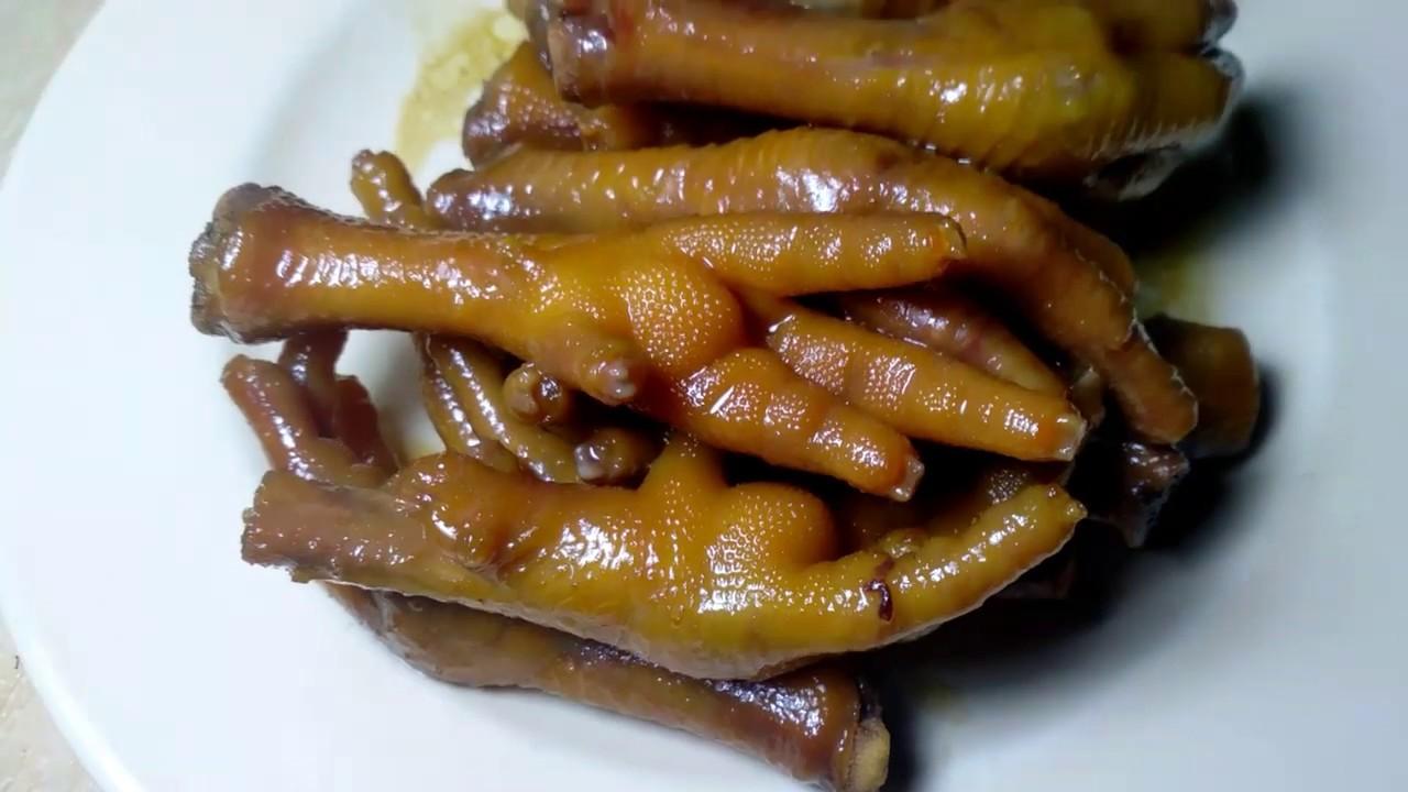 Resep Ceker Ayam Kecap Ala Angkringan Kenyal Berotot Tapi Empuk Youtube