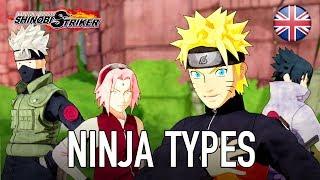 Naruto to Boruto: Shinobi Striker - PS4/XB1/PC - Ninja Types (English Trailer)