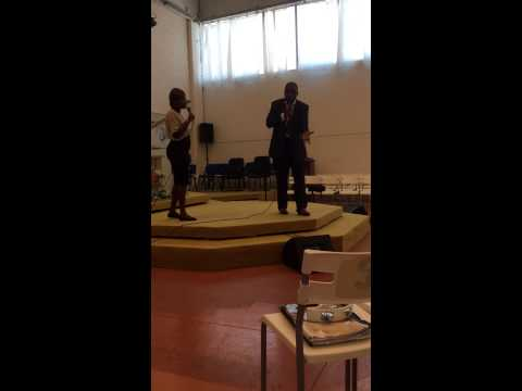 Pastor Daniel Nsoa - Preaching at Lody (Italia) church 2015