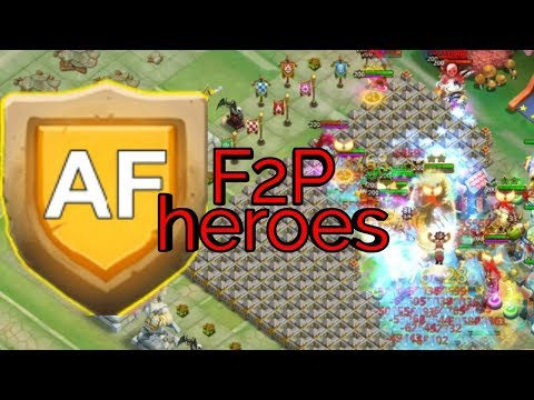 HBM AF | F2P ACCOUNT | Base Set Up | Hero Set Up | Castle Clash