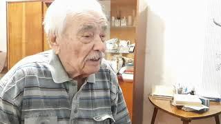 Николай Петрович Бабушкин. Наставление юношеству. Ветеран ВОВ. Пермский край. Зима 2019