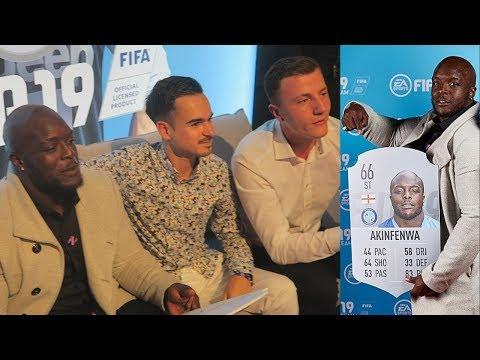 AKINFENWA REACTS to his FIFA 19 STATS 🔥🔥