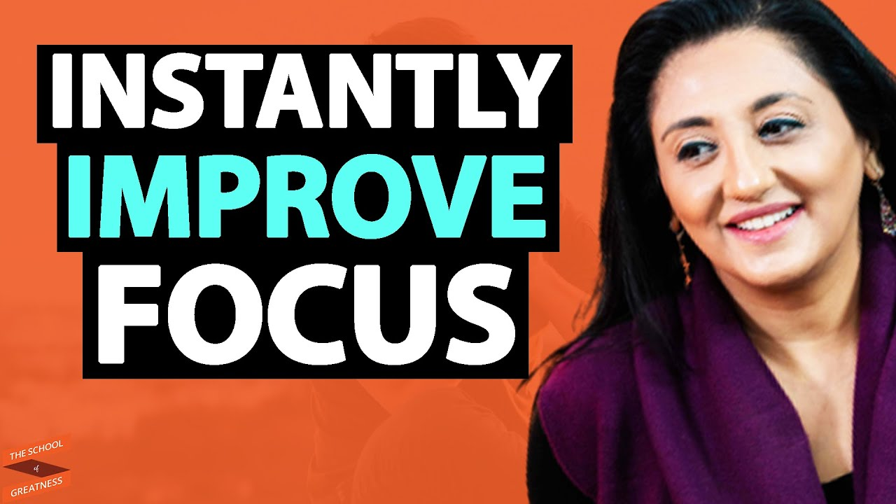 How To INSTANTLY Improve Focus & 10x Your PRODUCTIVITY!   Dr. Amishi Jha & Lewis Howes
