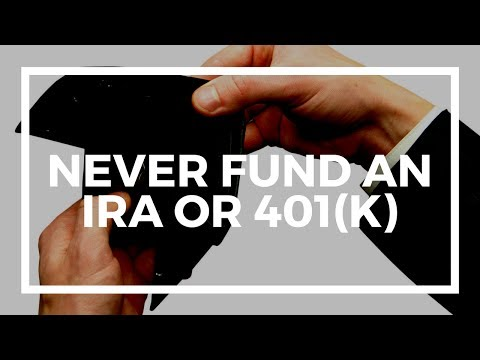 Why I never funded an IRA or 401(k)