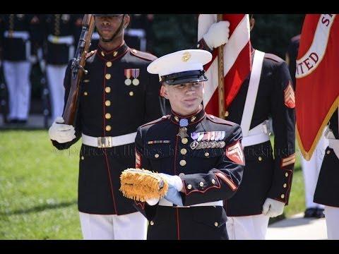 "Medal of Honor Flag Presentation for Cpl. William ""Kyle"" Carpenter"