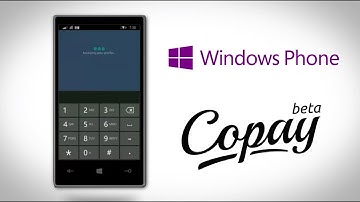 Copay Wallet – A Bitcoin Wallet for Microsoft Windows Phone