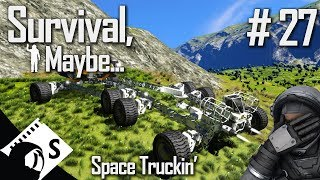 Survival, Maybe... #27 Building a Truck, semi trailer style (Survival with tips & tricks thrown in)