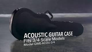 Gator Cases GWE-ACOU-3/4 Acoustic Guitar Case