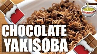 CHOCOLATE Instant YAKISOBA Taste Test   Ramen, Ramen, Ramen