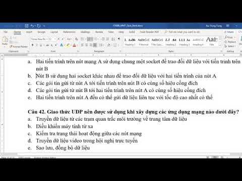 [Mạng máy tính] Live stream 04 – Giải đáp đề thi trắc nghiệm phần tầng Giao vận.