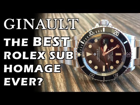 Ginault Ocean Rover Date 181270GSLN Automatic Dive Watch Review - Perth WAtch #96