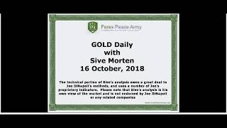 Forex Peace Army | Sive Morten Gold Daily 10.16.18