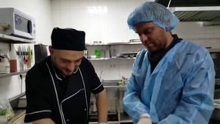 Хачапури по-аджарски Мастеркласс от Грузина / ресторан Кахети /