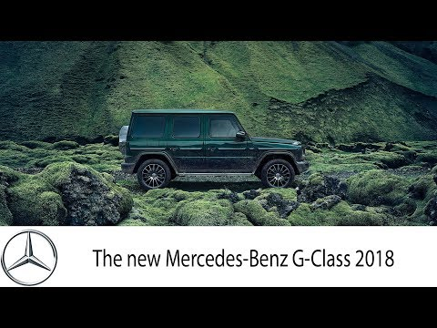 Stronger Than Time: The New Mercedes-Benz G-Class 2018
