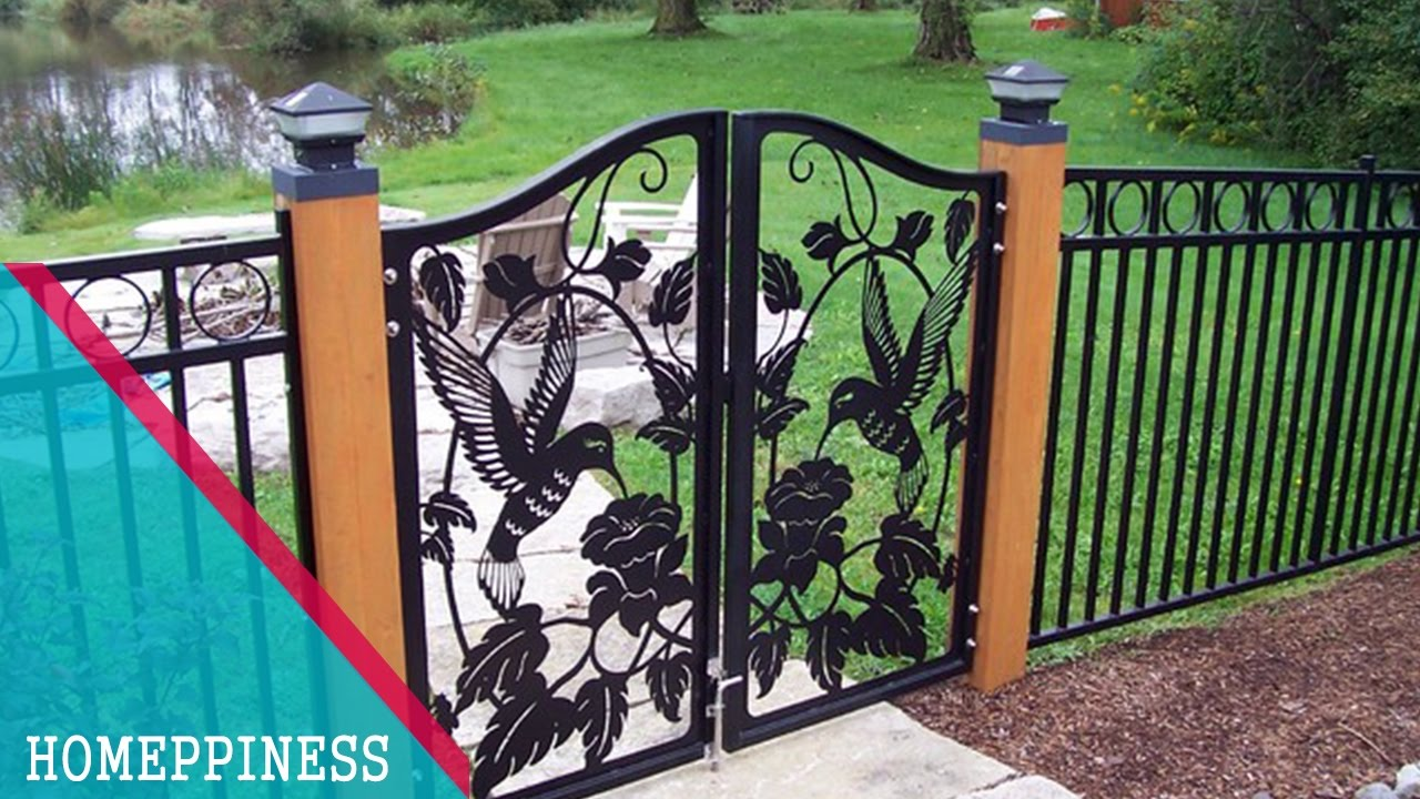 (NEW DESIGN 2017) 30+ Modern Metal / Iron Fence Gates