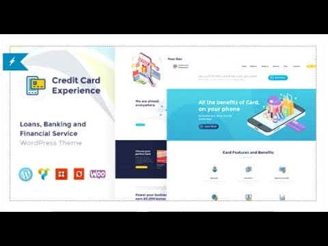 Credit Card Company and Online Banking | Themeforest Download