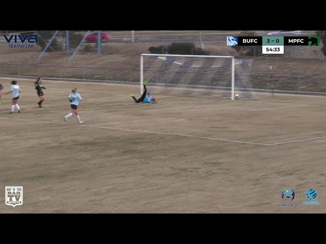 NPLW Capital Football Highlights presented by Club Lime - Round 17 | BUFC 6 - 0 MPFC