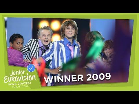 JUNIOR EUROVISION 2009: RALF MACKENBACH - CLICK CLACK - THE NETHERLANDS 🇳🇱 - WINNER