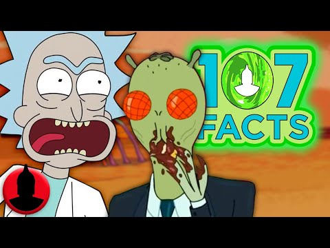 Thumbnail: 107 Facts about Rick and Morty Season 3 - Cartoon Facts! (107 Facts S7 E22)