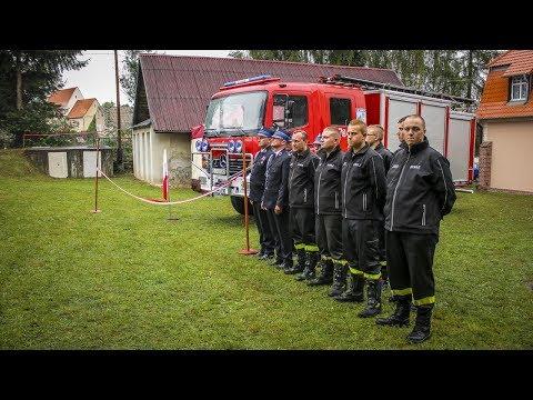OSP Rybnica z nowym wozem strażackim