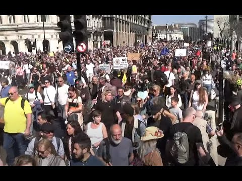 Anti Lockdown & Pro Freedom Protest - Starting in Hyde Park, London - April 24th 2021