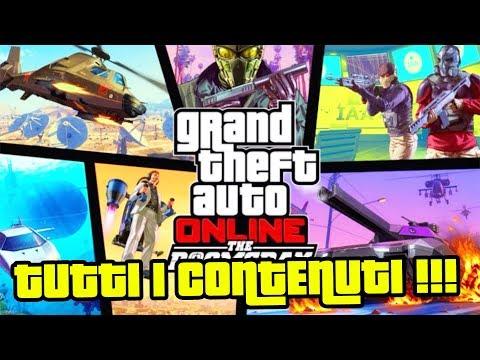 GTA 5 ONLINE | TUTTI I CONTENUTI DEL' DLC IL COLPO DELL' APOCALISSE !!! (PS4 PRO-ITA)-(xWilly)